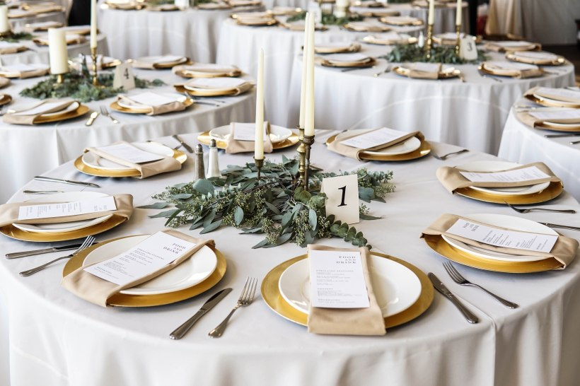 Close Up Table Settings