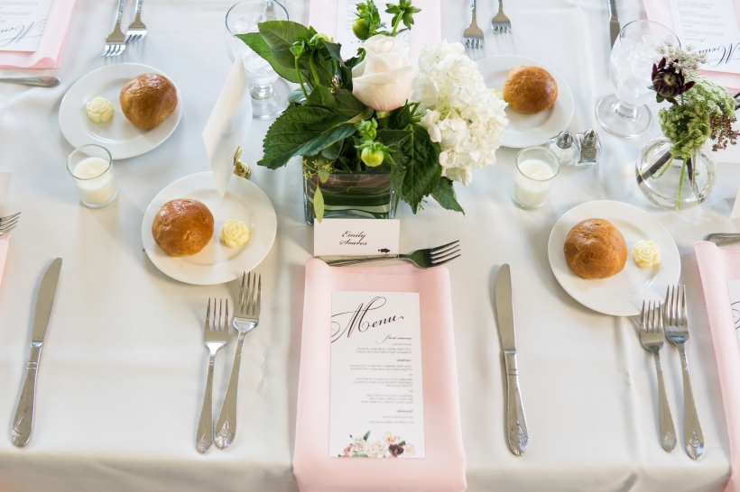 Place Setting- Pinks